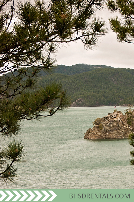 Things to do black hills rentals lakeside condo is a for Pactola lake cabins